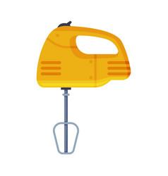 Kitchen mixer household appliance flat style vector