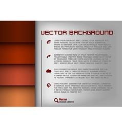 layout red vector image