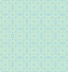 Teal Seamless Geometric Pattern vector image