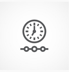 timeline icon vector image