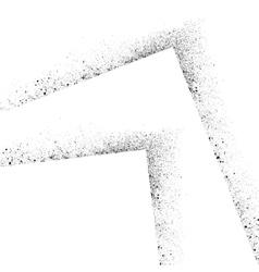 Ink blots square set-1 vector image