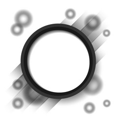 abstract circle blackground vector image vector image