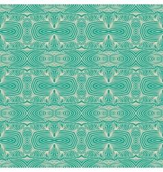 Linear emerald green website background vector
