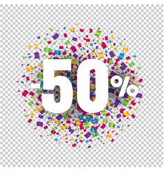 offer price sign transparent background vector image