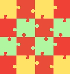 puzzle for kid vector image