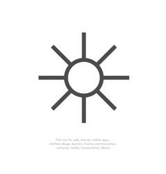 sun symbols 11 vector image