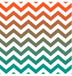 Warm colored zigzag seamless pattern vector