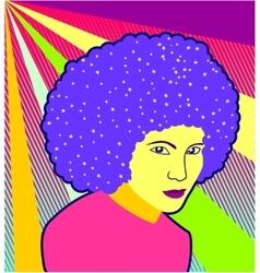 Disco diva - vector image