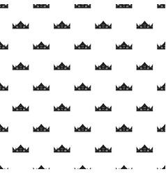 royal crown pattern vector image