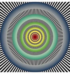 vector optical art vector image vector image