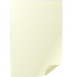 parchment sheet vector image vector image