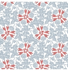 Abstract seamless pattern with simple elements vector image