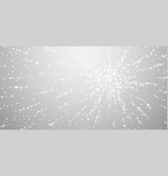 Amazing falling snow christmas background subtle vector