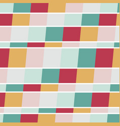 background with color squares vector image
