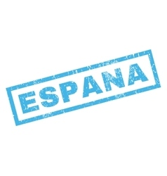 Espana Rubber Stamp vector