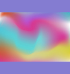 Holographic foil backgrounds set plastic gradient vector