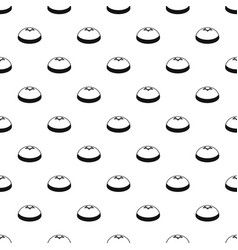kipa hat pattern seamless vector image