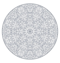 Mandala Ethnic decorative elements Round ornament vector image