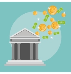 Money design financial item Flat vector