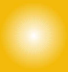 Sunlight sunbeam design vector