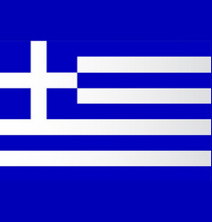 The greek flag vector