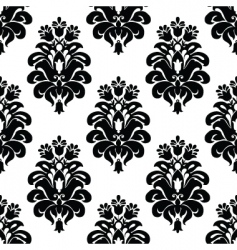 three tulip pattern vector image