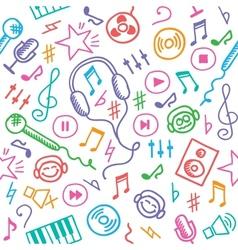 Music pattern vector