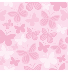 Butterfly pattern1 vector image vector image