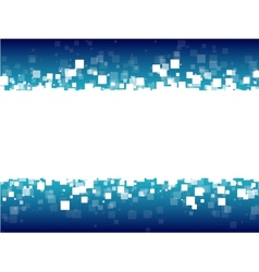 abstract blue futuristic background vector image