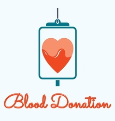 blood donation 3 resize vector image
