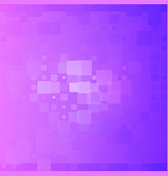 Blue purple gradient glowing rounded tiles vector