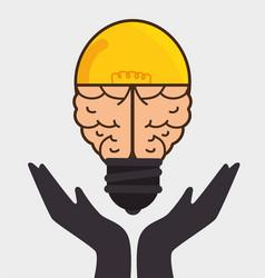 Brain storming concept icon vector