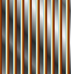 Colorful bars on a silver background vector image