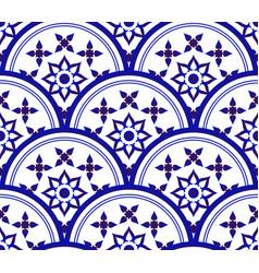 decorative tile pattern vector image