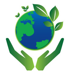 Save earth vector