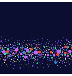 Seamless scattered circles vector