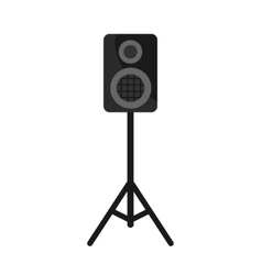 Speakers Box on white background icon vector image
