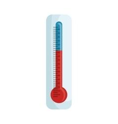 Thermometer temperature scale vector