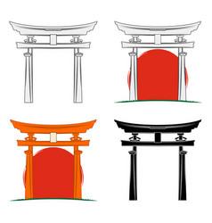 torii 0001 vector image