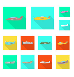 travel and airways logo vector image