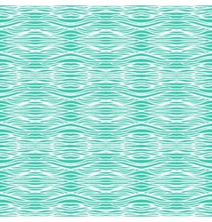 Tropical aqua blue pattern with smooth waves vector