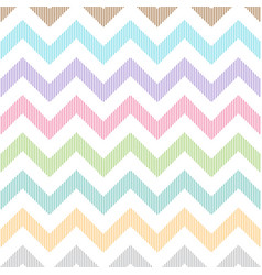 Zigzag pattern of soft colors having lines in vector