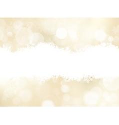 Christmas Festive defocused lights EPS 10 vector image vector image