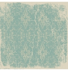 old worn vintage card vector image vector image