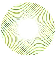 Abstract spiral twist radial swirl twirl curvy vector