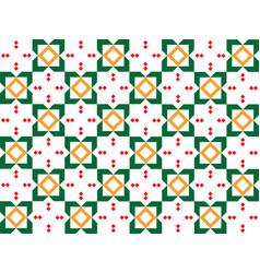 Arabic pattern islamic border vector