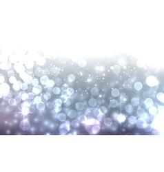 Blue luminous background vector