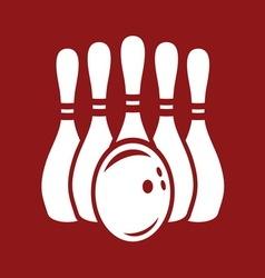 bowling stroj2 resize vector image
