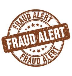 Fraud alert vector