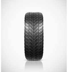 Isolated tire vector